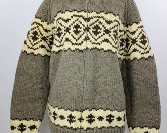 Cowichan Vintage Hand Knit Sweater