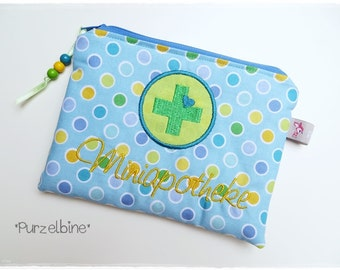Miniapothe - first aid kit - first aid circle bags-