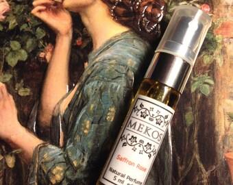 Saffron Rose - Natural Botanical Eau De Parfum Spray - 5 ml