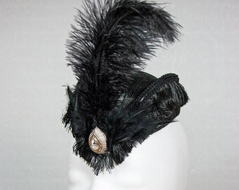 Victorian fancy hat for the elegant Gothic Lady
