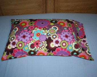 Multicolor Flower Pillowcase