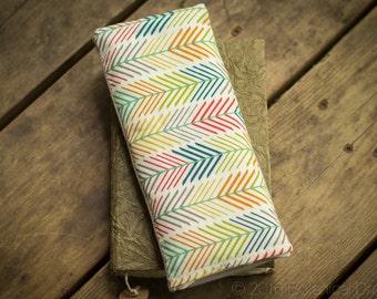 Organic Eye Pillow: w/ Lavender & Clary Sage. Yoga Essentials. Quills + Gray.