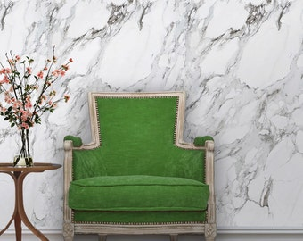 carrera marble removable peel u0027n stick wallpaper custom sizes and colors