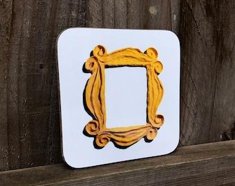 Friends TV Show - Friends Peep Hole Frame - Friends Mug Coaster