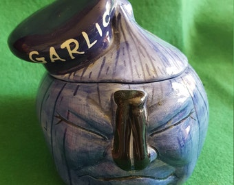 1950's Mr. Garlic Head Garlic Keeper