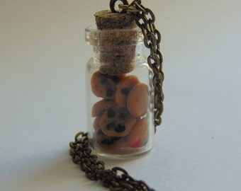 Miniature Cute Food Cookie Jar Necklace