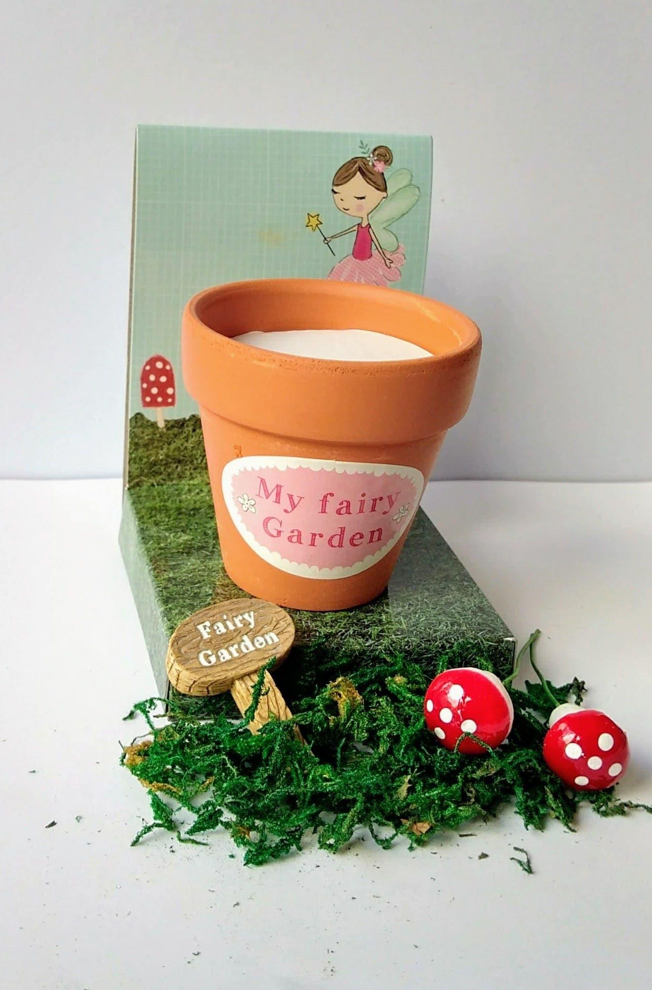 details fairy party favours fairy garden kits. beautiful ideas. Home Design Ideas