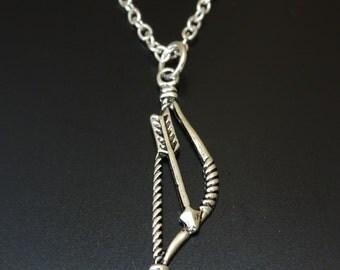 Arrow Necklace, Arrow Jewelry, Arrow Charm, Arrow Pendant, Archery Necklace, Archery Jewelry, Archery Charm, Archery Pendant, Archery Gifts