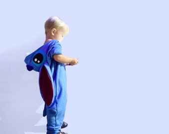 Stitch Costume Lilo and Stitch Baby Onesie Cosplay 6M - 12M