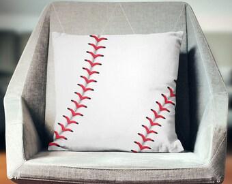 Baseball Cushion | Baseball Pillow | Baseball Pillowcase | Baseball Pillow Cover | Baseball Cushion | Baseball Throw Pillow
