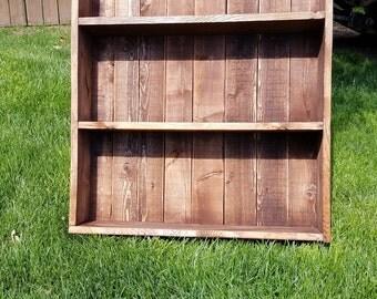 wooden bookshelf, bookcase, bookshelf, housewarming gift, dorm room, living room decor, wooden bookcase, wall mounted, room decor, recycled