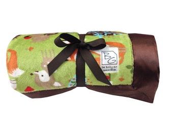 Woodland Stroller Blanket