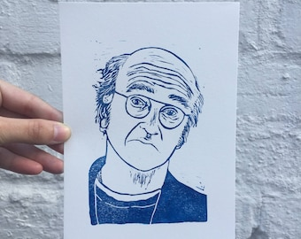 Disapproving Larry David