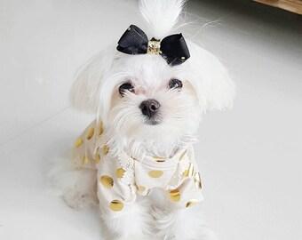 Dog clothes, dog shirt, dog outfit, puppy shirt, puppy clothes, puppy outfit, Ava