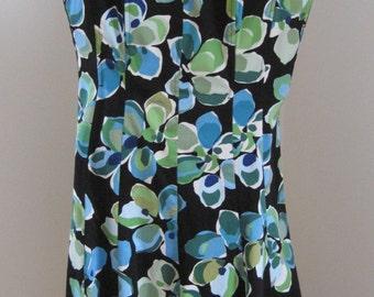 Sundress, Jones Wear Dress, Summer Dress, Size 10, Cotton/Spandex