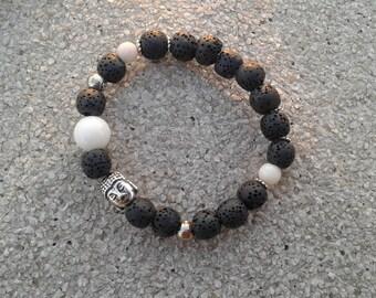 Volcanoes of the Budhha peace her bracelet