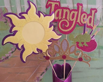 Rapunzel/Tangled Centerpiece!  Tangled Party Decorations!