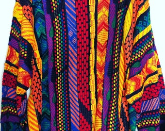 Coogi Style Sweater - Bill Cosby Sweater - 90s