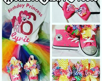 My Little Pony  Swarovski Bling Converse