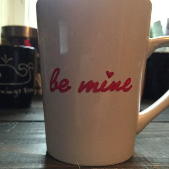 Hand Painted Coffee Mug, Large Coffee Mug, Funny Coffee Mugs, Gifts for Coffee Lovers, New Home Gifts, Hand Painted Gifts, Custom Gifts