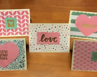 Pink and Teal Valentine Pack