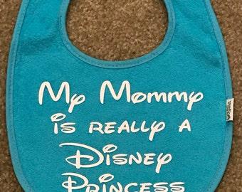 Princess Mommy bib