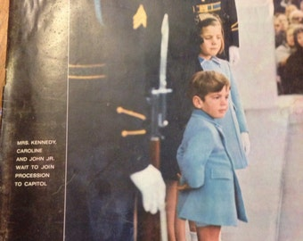 1963 Life Magazine.,JFK Funeral, LBJ President