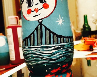 Hand Painted Nesting Dolls