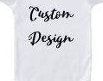 Create your own design ONESIE