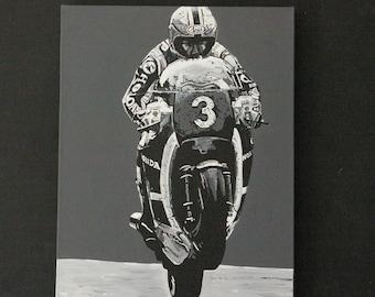 Joey Dunlop original canvas