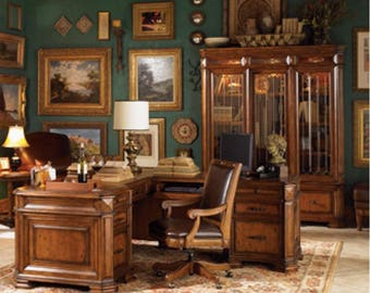 luxurious traditional executive desk set