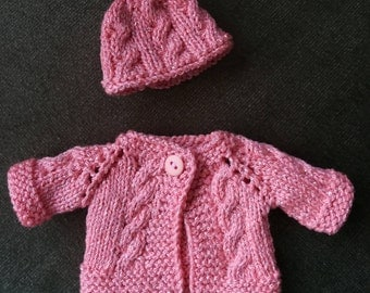 Hand Knitted Doll Clothes for 10 inch Doll