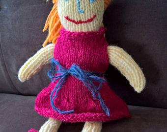 Handmade Knit Dolls