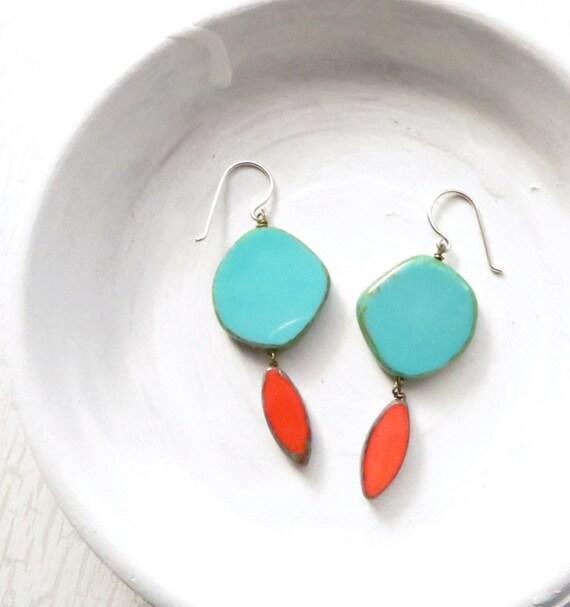 WHOLESALE LISTING // Hue Earrings - Turquoise // EHT