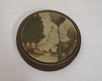 Vintage Canco Fairy Tale Castle Tin
