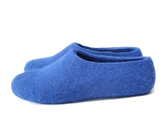 House Boots Slippers, House Shoes for Men, House Slippers Women, Rubber Soles, Warm House Slippers, Boiled Wool Shoes, Felted, Slipper Socks