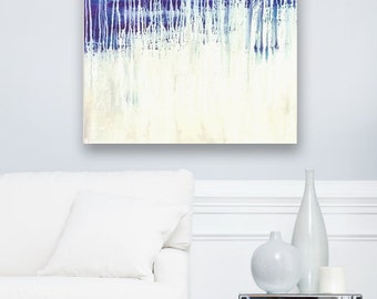 Enchanted - Original Iridescent Acrylic Painting on Canvas - Abstract Home Decor