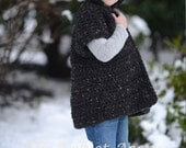 Crochet PATTERN-The Sevryn Sweater (2, 3/4, 5/7, 8/10, 11/13, 14/16, adult S, adult M, adult L, adult xL, adult xxL sizes)