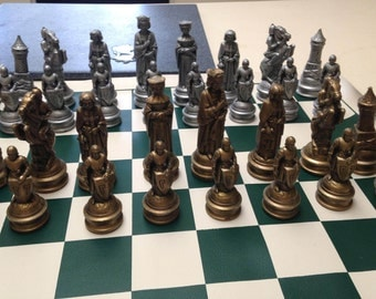 E S Lowe Co Anri Renaissance Chess Set