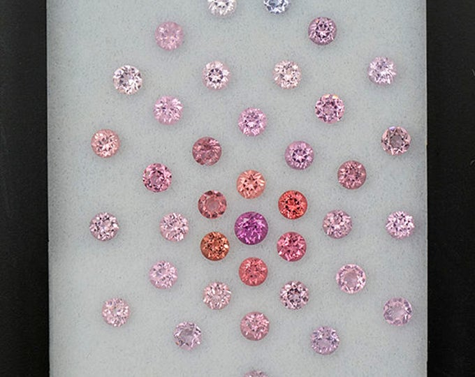 Beautiful Multi Color Spinel Gemstone Set from Burma and Sri Lanka 4.77 tcw.