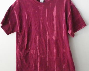 Tie dye Tee shirt, Acid wash Tee Shirt, Pink tie dye, Galaxy Tee shirt, Grunge, Rocker, graphic, top and tees, Gift under 15 dollars, Gift