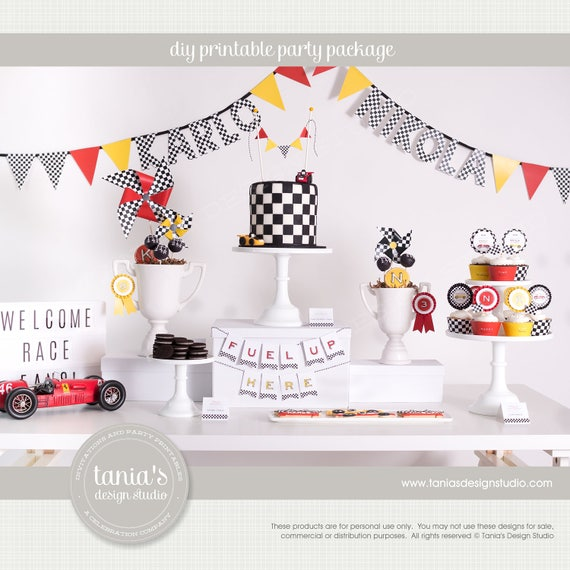 custom printable party package