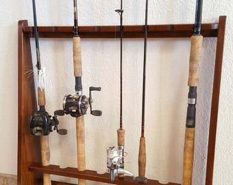Fishing Rod holder, stand display