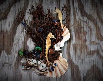 Seahorse Art Seahorse Sculpture Seahorse Nick-nack Home decor