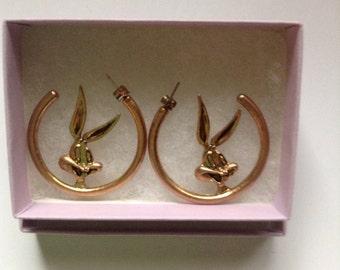Bugs Bunny earrings