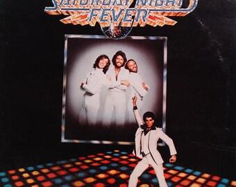 Saturday Night Fever (The Original Movie Sound Track) 1977 (LP, Album, Vinyl Record )  Electronic, Soundtrack, Disco - Muisc