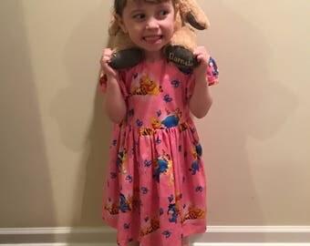 Disney Winnie the Pooh and Friends Girls Pink Dress Size 3T *LAST ONE*