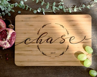 Personalized Cutting Board Personalized Custom Cutting Board Wedding Gift Cutting Board Engraved Cutting Board Anniversary Cutting Board #23