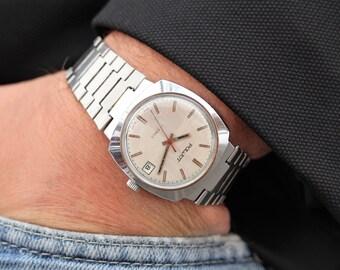 wind up watches vintage mens watch wristwatch mens poljot watches for men watch flight modern watch russian wristwatch wind up watch mens gift