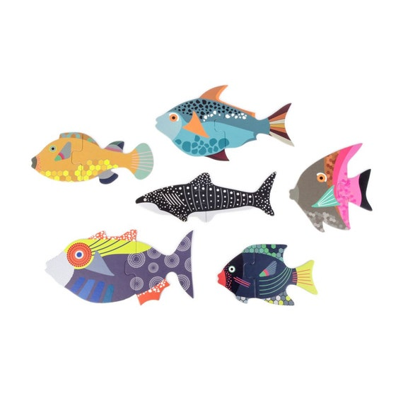 Unique Baby Toys : Unique fish baby puzzle toys for babies